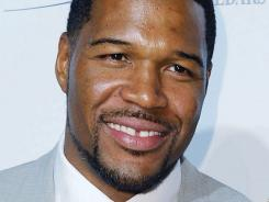Michael Strahan, who played his entire NFL career with the New York Giants, is expected to take the seat next to Kelly Ripa on Sept. 4.