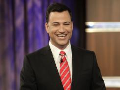 'Jimmy Kimmel Live!' is moving into the crowded 11:35 p.m. time slot, where it will compete with Leno and Letterman. 'Nightline' will take the late shift at 12:35 a.m.