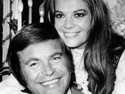 Robert Wagner and his former wife, Natalie Wood, in London in 1972.