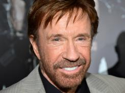 "Chuck Norris returns to the silver screen in 'The Expendables 2,' with a growing legacy, and following, thanks to the internet meme ""Chuck Norris Facts."""