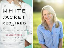 Blogger Jenna Weber's memoir is titled 'White Jacket Required.'