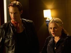 Where have they been? Eric (Alexander Skarsgard) and Sookie (Anna Paquin).