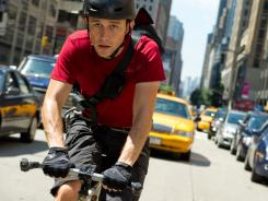A wild ride: Joseph Gordon-Levitt is Wilee, a bike messenger who is being chased through the streets of New York City.