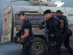 The veteran action heroes of 'The Expendables 2' were not expendable at the box office this weekend.