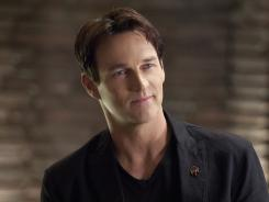 The Season 5 finale of 'True Blood,' starring Stephen Moyer, sucked in 5 million viewers, down slightly from last year's closer.