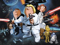 Want an alternative to watching the Republican Convention? Try tonight's 'Star Wars' spoof episode of 'Family Guy.'