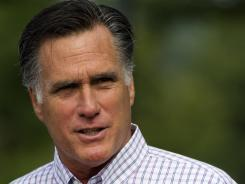 Gov. Mitt Romney is expected to accept his party's nomination tonight at the Republican National Convention.