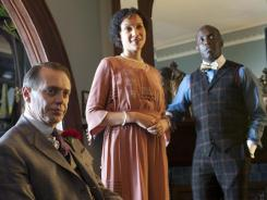 Steve Buscemi, left, Natalie Wachen and Michael Kenneth Williams are part of the outstanding ensemble cast of HBO's 'Boardwalk Empire.