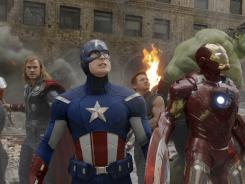 A solid summer for superheroes. 'The Avengers' (above, starring Chris Hemsworth, left, Chris Evans, Jeremy Renner, and Robert Downey Jr.), 'The Dark Knight Rises' and 'The Amazing Spider-Man' each found critical acclaim and scored well at the box office this summer.