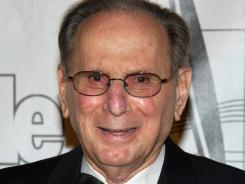 In this June 16, 2011, file photo, Hal David arrives at the 42nd Annual Songwriters Hall of Fame Awards in New York.