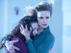 'The Possession,' with Madison Davenport, left, and Kyra Sedgwick, was No. 1 over the Labor Day weekend.