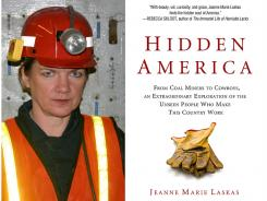 She researched jobs such as coal mining and air-traffic control for her new book, 'Hidden America.'