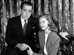 If you want to avoid sports and politics tonight, catch TCM's salute to Humphrey Bogart and Lauren Bacall.
