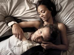 Bradley Cooper desires to be a writer; Zoe Saldana stars as the wife.
