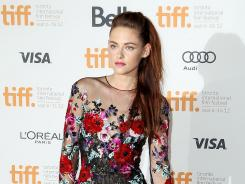 """Kristen Stewart at the gala premiere for """"On the Road"""" during the Toronto International Film Festival on Thursday."""