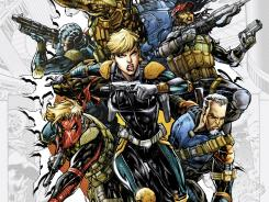Dinah Lance is front and center with other special operatives in Justin Jordan's new series Team 7.