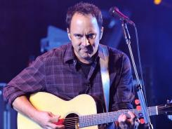 Dave Matthews and his band are out with their eighth studio album, 'Away From the World,'