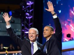 While the Democratic National Convention, where the headliners were Joe Biden and Barack Obama, drew higher ratings than the GOP meeting, it was also down 7% from 2008.