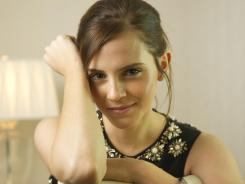 Emma Watson of Harry Potter fame, is in a new movie, 'The Perks of Being a Wallflower.'