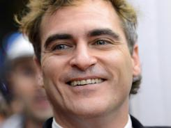 Joaquin Phoenix attends 'The Master' premiere during the Toronto International Film Festival. Phoenix stars as the violent drifter Freddie Quell in the highly anticipated film by Paul Thomas Anderson.