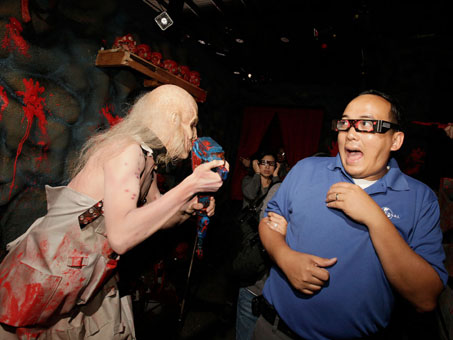 ... to life in Rob Zombie's House of 1,000 Corpses: In 3D ZombieVision