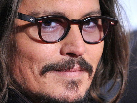 Depp and Tinted Glasses