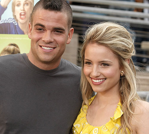 Mark Salling couple