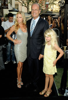 Kelsey Grammer, wife, daughter, Fame premiere