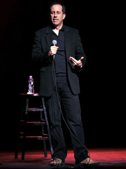Acura Manhattan on Jerry Seinfeld Performs During A Star Studded Double Taping Of