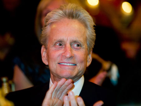 Michael Douglas attends the annual McGill University Head and Neck Cancer ...