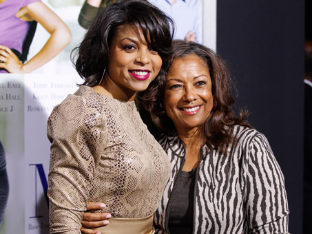 Photo of Taraji P. Henson & her Mother  Bernice Gordon