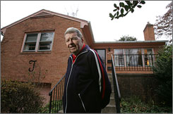 Retiree Matthew Thorp, 85, receives income from reverse mortgages on his home where he has lived since 1963