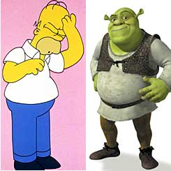 The Simpsons Movie and Shrek the Third are among expected animation blockbusters this year.