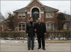 Marnie Azadian and husband Hratch bought their house in Tulsa after viewing it online, something more buyers are willing to try.