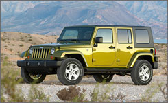 The Unlimited is pretty good by Wrangler standards, but holds little appeal if you're not a Jeep fan.