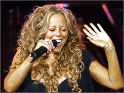 Downloading Mariah Carey's 'Always Be My Baby' can be as fast at 1.4 seconds or as long as 10.2 minutes.