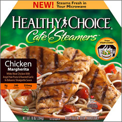ConAgra rolls out a new line of Healthy Choice meals called Cafe Steamers.
