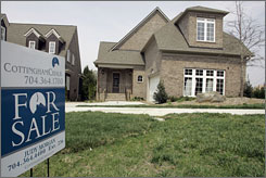 The housing market remains volatile as new-home sales slide and more than 2.1 million Americans with home loans missed at least one payment last year, according to the Mortgage Bankers Association.
