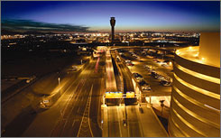 Phoenix's air traffic control tower is the world's third tallest.