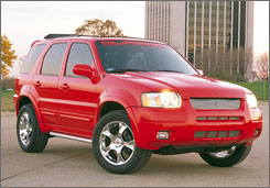 2002 Ford Escapes are one of four model years on the recall list.