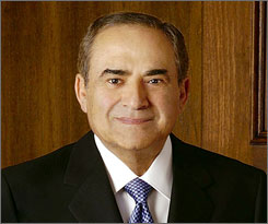 Ray Irani of Occidental Petroleum received total compensation of $52.1 million. He also exercised $270 million in options and received $93 million by opting out of the company's deferred compensation program.