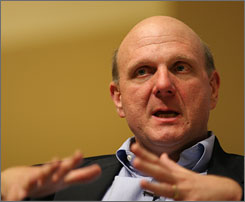"""I never would have believed I could feel more accountable than I already did for Microsoft,"" Ballmer said."