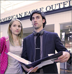 Actor Milo Ventimiglia will direct an American Eagle series starring Dianna Agron.