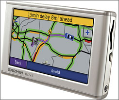 Garmin's Nuvi 680 is a high-end portable GPS system.