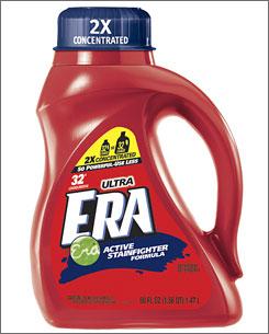 "Procter & Gamble plans ""greener"" Ultra Era laundry detergent."