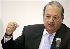 "Carlos Slim is the world's second-richest man and is closing in on No. 1  Bill Gates,  ""Forbes"" magazine says."