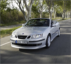 The Saab 9-3 received top scores in three crash tests. As did the Volvo C70.