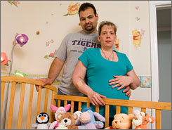 After Tony Camilleri took his pregnant wife, Bridget, to an emergency room, they were surprised to find their insurance left them owing bills of more than $8,000. Their baby is due in September.