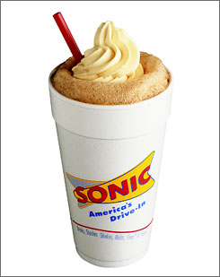 Sonic Drive-In plans to give away 3 million root beer floats Thursday night.