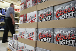 Beer sold at supermarkets and other stores in May was 3% more expensive than a year earlier.